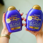 Shampoo e condicionador Organix Biotin & Collagen – Resenha