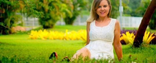 Look do dia – vestido de renda branco