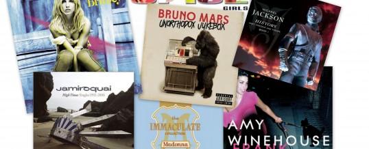 Os discos que marcaram a minha vida